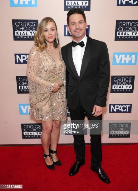 Justin Willman and Jillian Sipkins attend the Critics' Choice Real TV Awards on June 02 2019 in Beverly Hills California