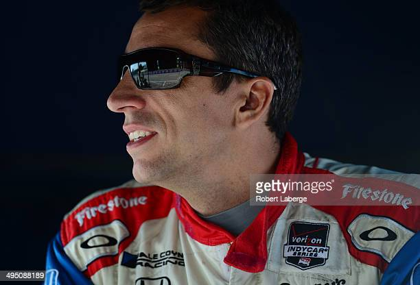 Justin Wilson of England driver of the Dale Coyne Racing Dallara Honda during qualifying for the Verizon IndyCar Series Chevrolet Indy Dual in...