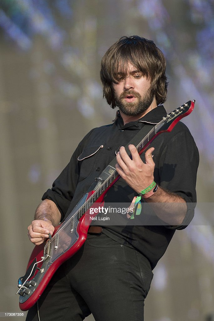 Justin Young of The Vaccines performs at day 2 of British Summer Time Hyde Park presented by Barclaycard at Hyde Park on July 6, 2013 in London, England.