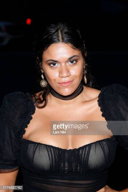 Justina Adorno attends Tiffany Panhilason's NYFW Fundraising Event For Mentari on September 12 2019 in New York City