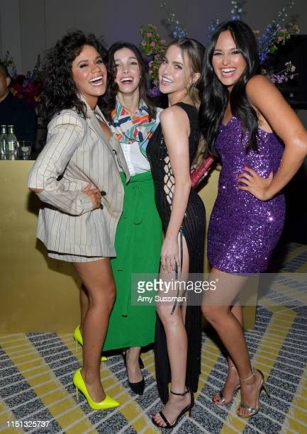 Justina Adorno Denyse Tontz Anne Winters and Feliz Ramirez attend People En Espanol's Los 50 Más Bellos Celebration at 1 Hotel West Hollywood on May...