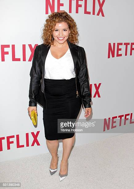 Justina Machado attends the Netflix's Rebels and Rule Breakers Luncheon and Panel Celebrating the Women of Netflix at the Beverly Wilshire Four...