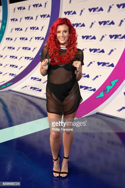 Justina Valentine attends the 2017 MTV Video Music Awards at The Forum on August 27 2017 in Inglewood California