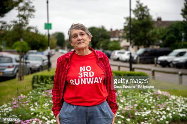Justine Bailey who will be affected by the 3rd runway at Heathrow after the runway has been given the goahead by Transport Secretary Chris Grayling