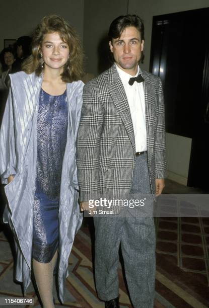 Justine Bateman and Bob Anderson during Jewish National Funds Annual Tree of Life Awards at Sheraton Premiere Hotel in Los Angeles California United...
