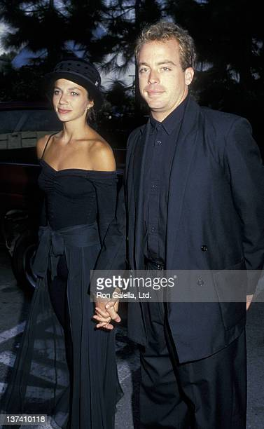 Justine Bateman and Leif Garrett attends Fifth Annual MTV Video Music Awards on September 7 1988 at the Universal Ampitheater in Universal City...
