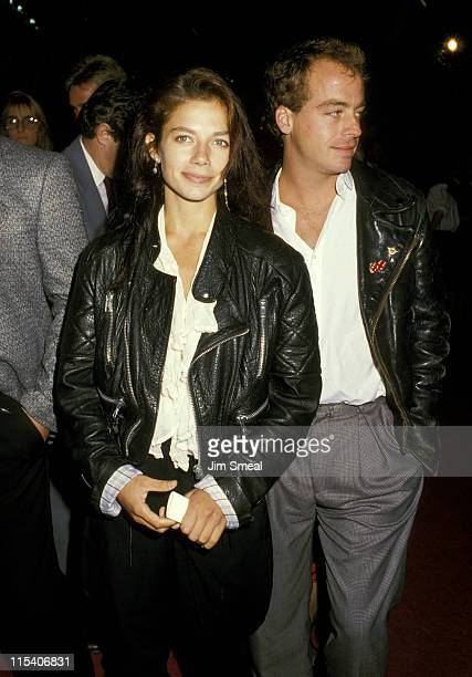 Justine Bateman and Leif Garrett during Sweet Hearts Dance Los Angeles Premiere at Avco Theater in Westwood California United States