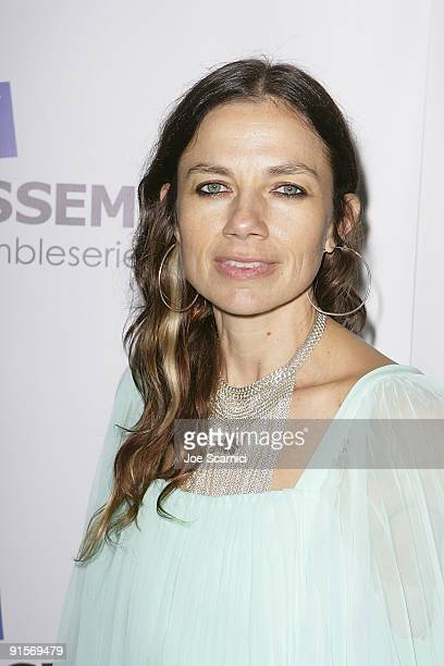 Justine Bateman arrives at the world premiere of Easy To Assemble 'CoWorker Of The Year' at the Egyptian Theatre on October 7 2009 in Hollywood...