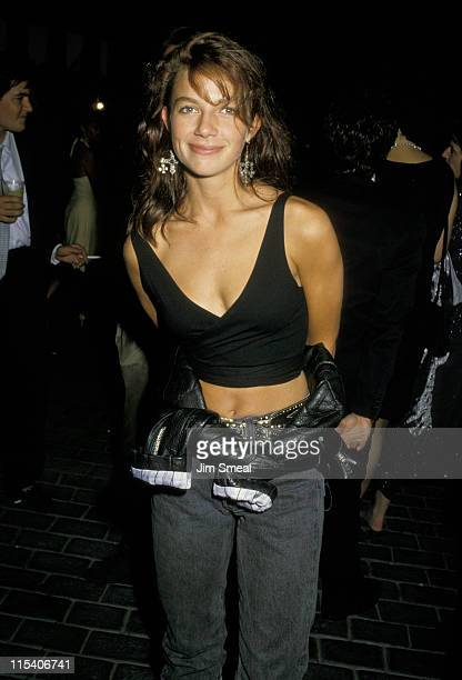 Justine Bateman during 1987 MTV Video Music Awards After Party in Los Angeles California United States