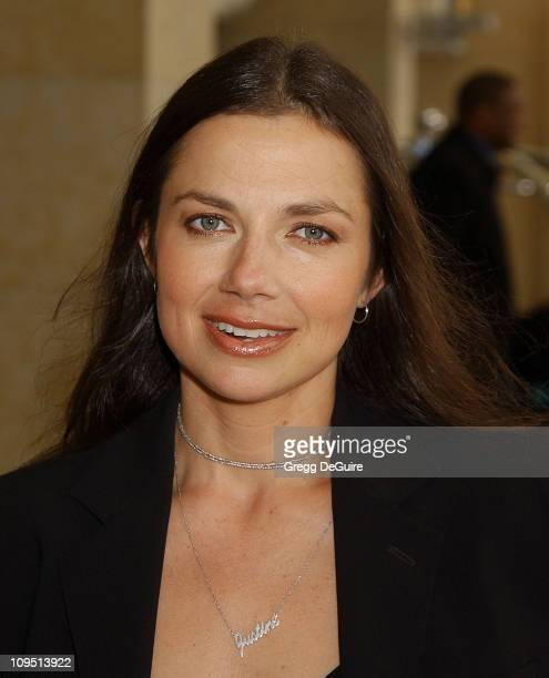 Justine Bateman during 2003 National Cable Telecommunications Assn Press Tour Day Three at Renaissance Hotel in Hollywood California United States