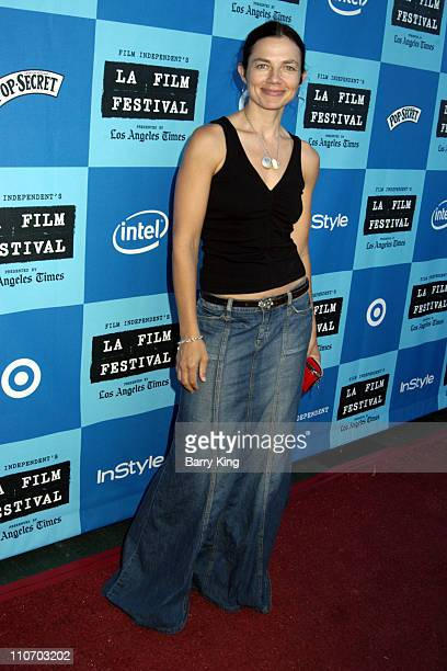 Justine Bateman during 2006 Los Angeles Film Festival 'I Want Someone To Eat Cheese With' Screening at Majestic Crest Theatre in Los Angeles...