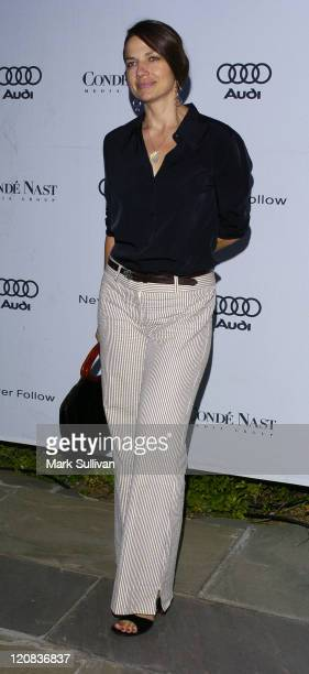 Justine Bateman during Audi and Condé Nast Honor William H Macy as Innovator in Film Arrivals at Private Residence in West Hollywood California...