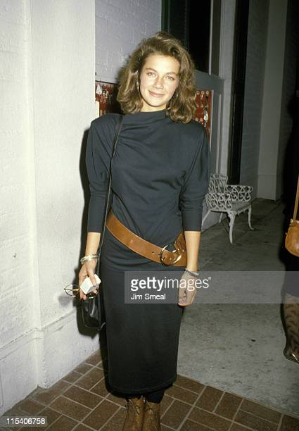 Justine Bateman during Family Ties Cast Party September 25 1986 at Chasen's Restaurant in Beverly Hills California United States
