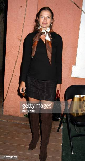 Justine Bateman during Los Angeles Premiere of A Series of Comedic Lectures by John Lehr at The Powerhouse Theater in Santa Monica California United...