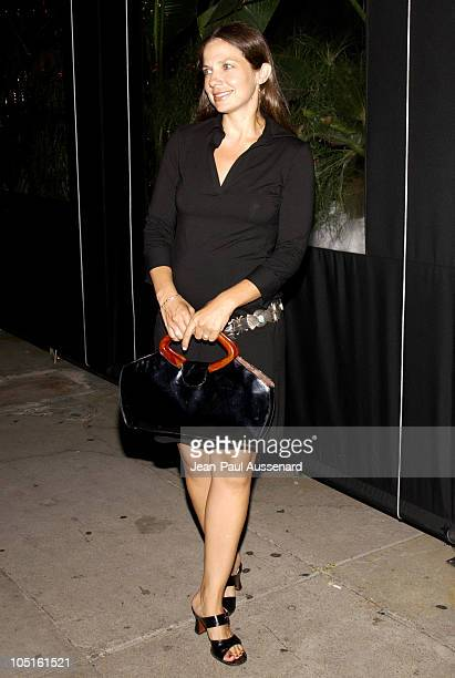 Justine Bateman during Oasis Restaurant Grand Opening at Oasis in Los Angeles California United States
