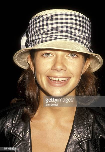 Justine Bateman during Salute of Liberty Theme Canvas at AM Chaplin Soundstage in Hollywood California United States
