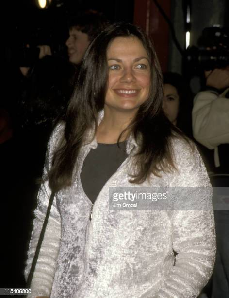 Justine Bateman during Screamers Los Angeles Premiere at Mann's Chinese Theater in Hollywood California United States