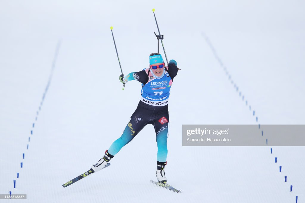 XXX IBU Biathlon World Championships - Women's 15km XXX : Photo d'actualité