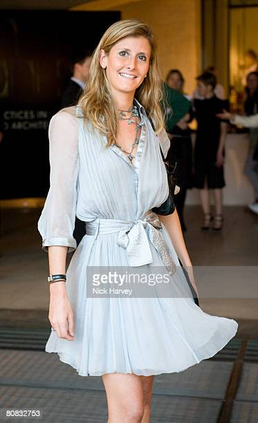 Justine DobbsHigginson attends the launch exhibition Skin and Bones for the new Embankment Galleries at the Somerset House on April 22 2008 in London...
