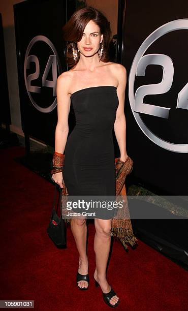 """Justine Eyre during """"24"""" 100th Episode and 5th Season Premiere Party at Cabana Club in Los Angeles, California, United States."""