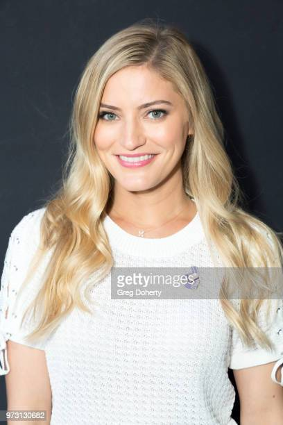 Justine Ezarik AKA iJustine attends the Epic Games Hosts Fortnite Party Royale on June 12 2018 in Los Angeles California