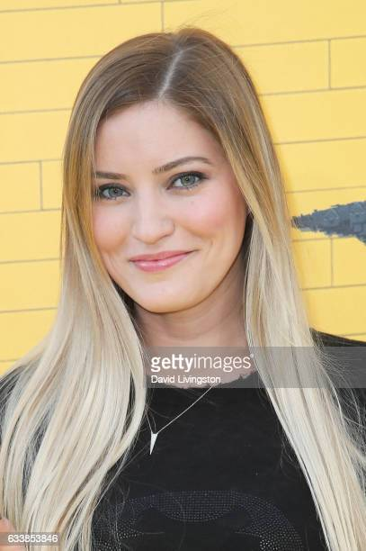 Justine Ezarik attends the Premiere of Warner Bros Pictures' 'The LEGO Batman Movie' at the Regency Village Theatre on February 4 2017 in Westwood...