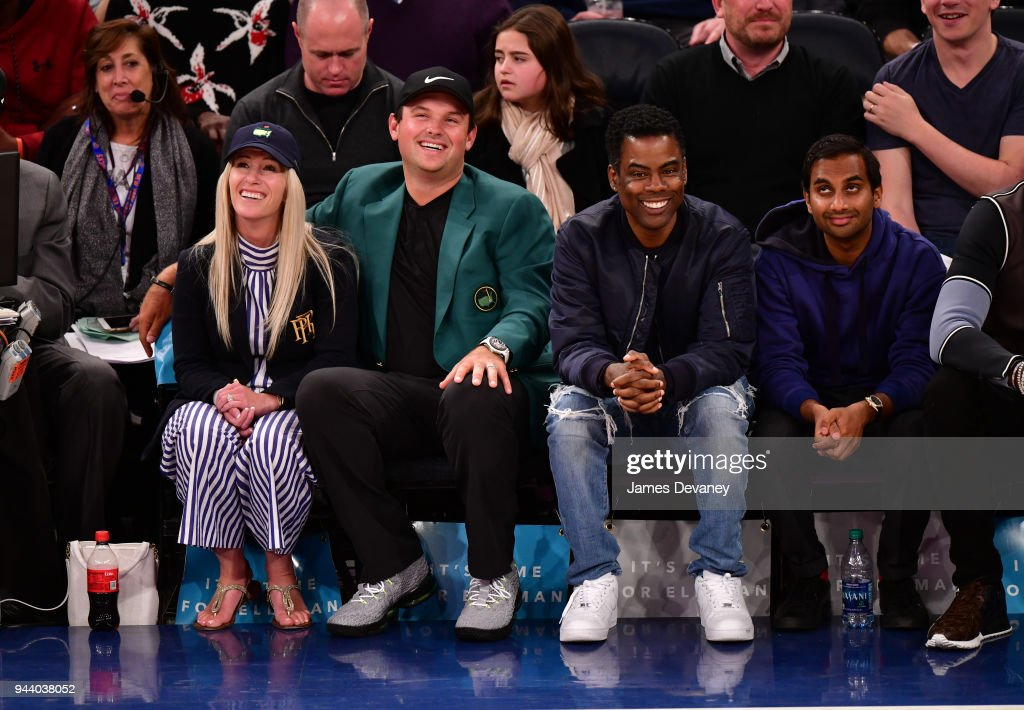 Celebrities Attend The New York Knicks Vs Cleveland Cavaliers Game : News Photo