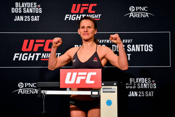 NC: UFC Fight Night Blaydes  v dos Santos: Weigh-Ins