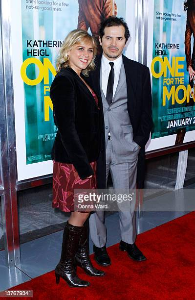 Justine Leguizamo and John Leguizamo attend the One for the Money premiere at the AMC Loews Lincoln Square on January 24 2012 in New York City