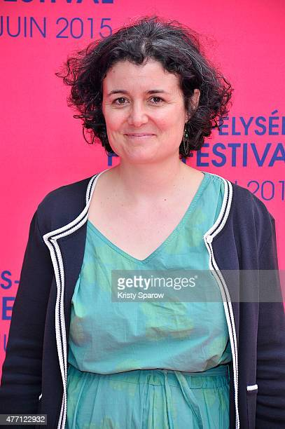 Justine Malle attends the 'Ascenseur pour l'echafaud' Premiere during the 4th Champs Elysees Film Festival at Cinemas Publicis on June 14, 2015 in...