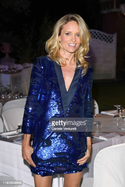 Justine Mattera attends 2019 Ischia Global Film Music Fest on July 17 2019 in Ischia Italy