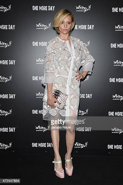 Justine Mattera attends the 'One More Day' premiere on May 7 2015 in Milan Italy