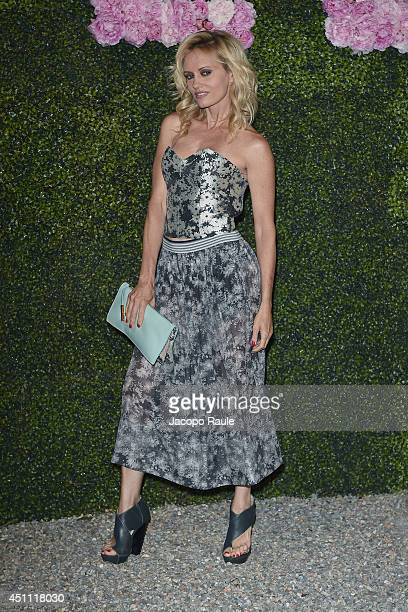 Justine Mattera attends the Stella McCartney Garden Party during the Milan Fashion Week Menswear Spring/Summer 2015 on June 23 2014 in Milan Italy