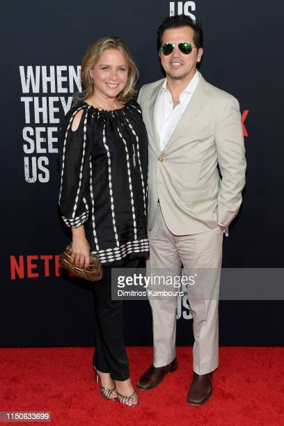 Justine Maurer and John Leguizamo attend the World Premiere of Netflix's When They See Us at the Apollo Theater on May 20 2019 in New York City