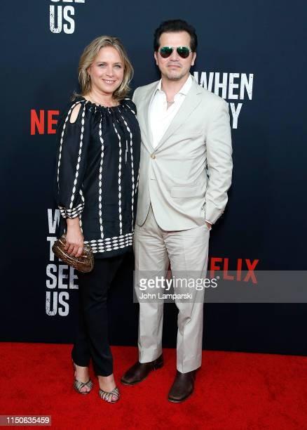 Justine Maurer and John Leguizamo attend When They See Us World Premiere at The Apollo Theater on May 20 2019 in New York City