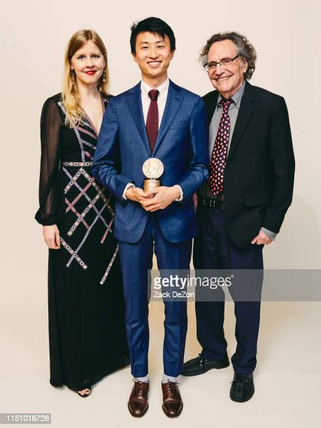 Justine Nagan Bing Liu and Gordon Quinn of Minding the Gap pose for a portrait during The 78th Annual Peabody Awards Ceremony on May 18 2019 in New...