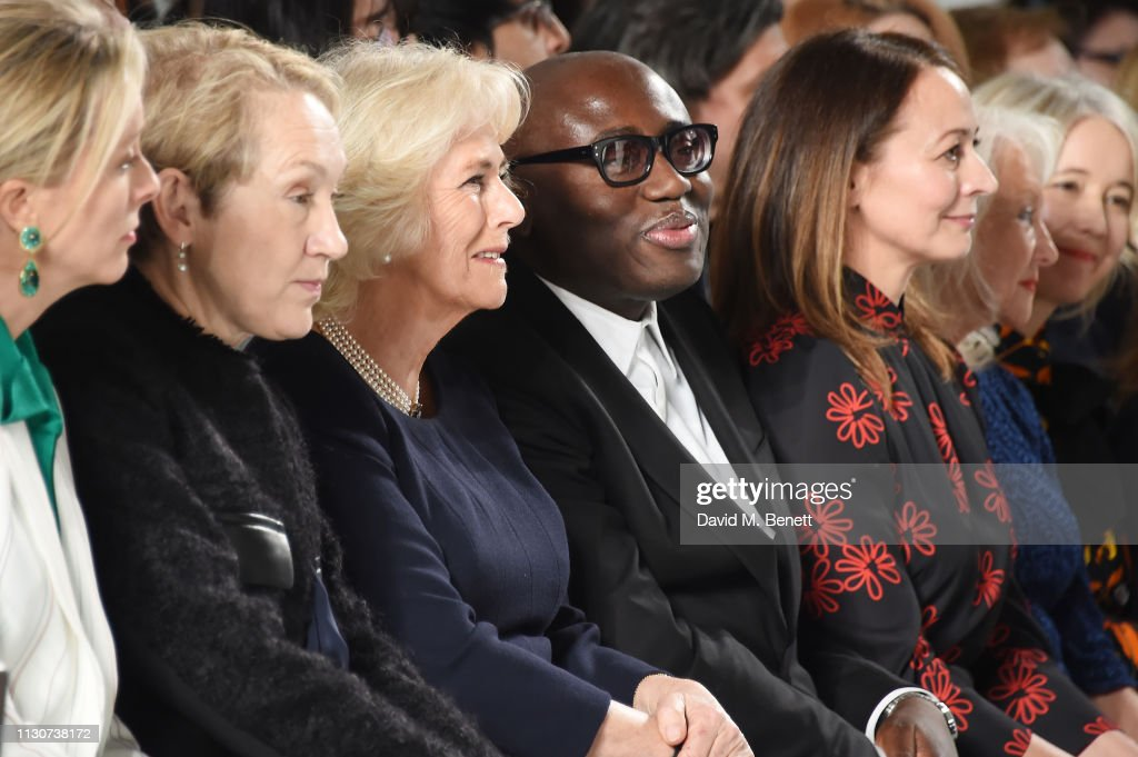 GBR: Bethany Williams - Front Row - LFW February 2019