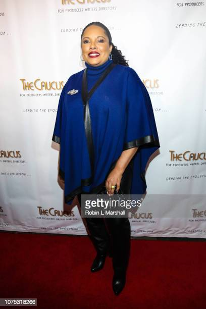 Justine Simmons attends the 36th Annual Caucus Awards Dinner at Skirball Cultural Center on November 30 2018 in Los Angeles California