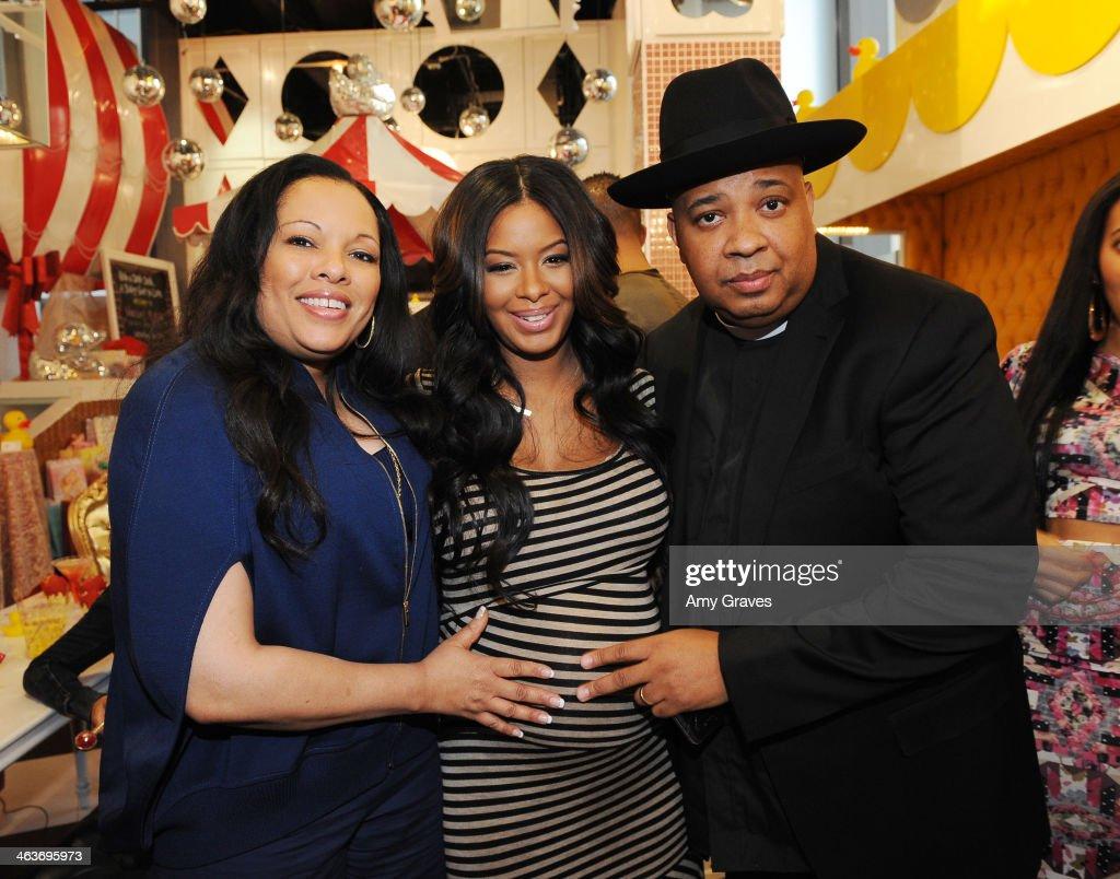 Vanessa Simmons Baby Shower At Sugar Factory Hollywood : News Photo