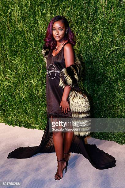 Justine Skye at the 2016 CFDA/Vogue Fashion Fund Awards at Spring Studios on November 7 2016 in New York City