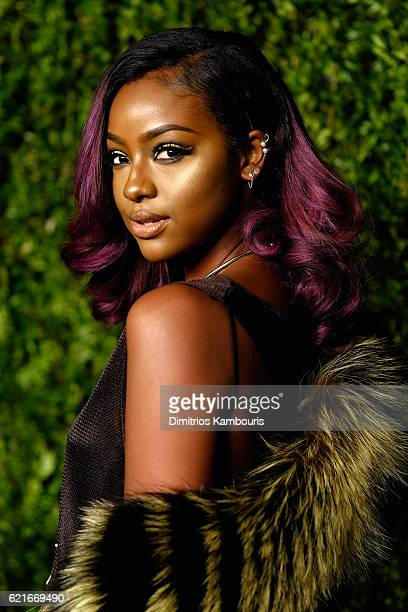 Justine Skye attends 13th Annual CFDA/Vogue Fashion Fund Awards at Spring Studios on November 7 2016 in New York City