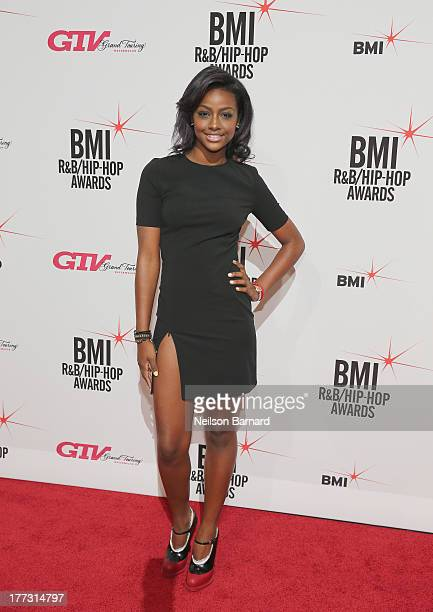 Justine Skye attends the 2013 BMI RB/HipHop Awards at Hammerstein Ballroom on August 22 2013 in New York City