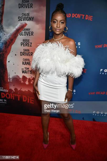Justine Skye attends The Dead Don't Die New York Premiere at Museum of Modern Art on June 10 2019 in New York City