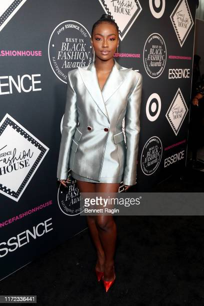 Justine Skye attends the ESSENCE Best In Black Fashion Awards at Affirmation Arts on September 04 2019 in New York City
