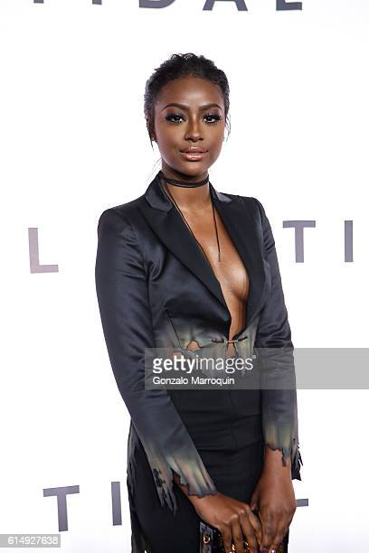Justine Skye attends the TIDAL's Second Annual Philanthropic Festival at Barclays Center of Brooklyn on October 15 2016 in New York City
