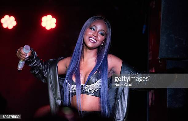Justine Skye performs in concert at Webster Hall on December 13 2016 in New York City