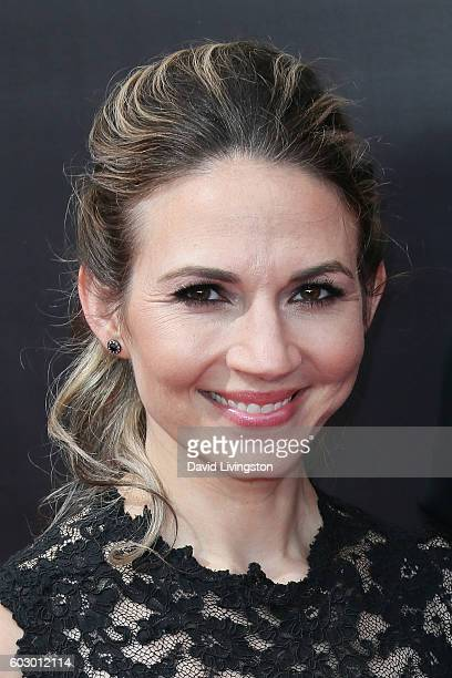 Justine Ungaro attends the 2016 Creative Arts Emmy Awards Day 2 at the Microsoft Theater on September 11 2016 in Los Angeles California
