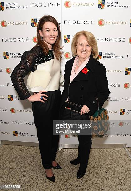 Justine Waddell and Lady Elizabeth Smith Baroness Smith of Gilmorehill attend as Kino Klassika Celebrates the 90th Anniversary of Eisenstein's Iconic...