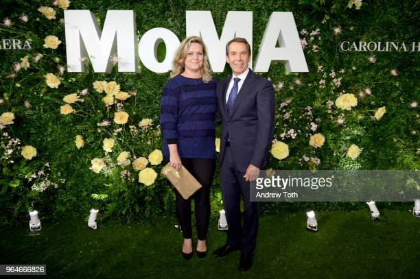 Justine Wheeler Koons and Jeff Koons attend MOMA's Party in the Garden 2018 at The Museum of Modern Art on May 31 2018 in New York City