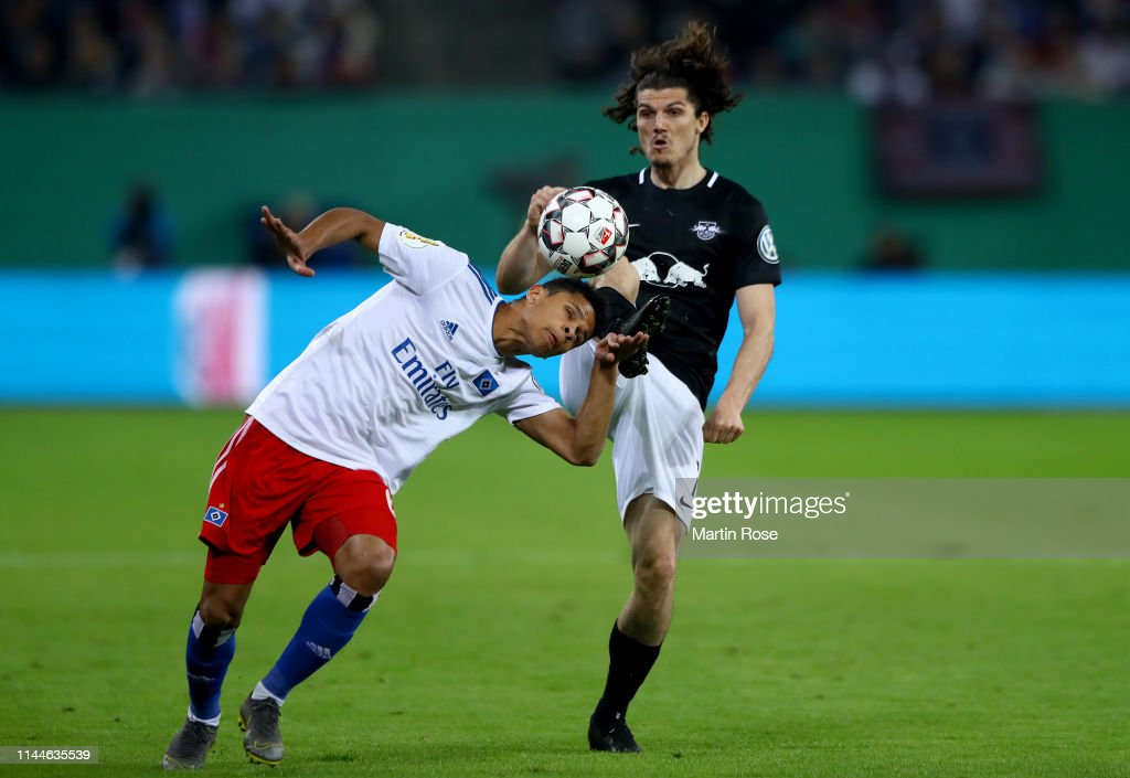 DEU: Hamburger SV v RB Leipzig - DFB Cup